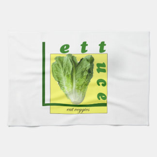 Let Us Eat Veggies Kitchen Towel
