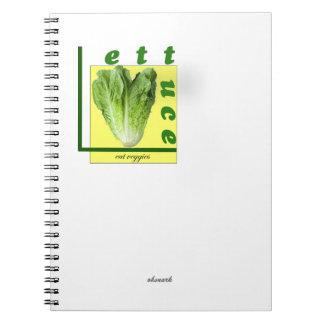 Let Us Eat Veggies Notebook