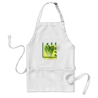 Let Us Eat Veggies Standard Apron