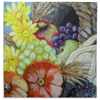 Let Us Give Thanks Printed Napkins