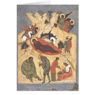 Let us rejoice for our Saviour is born! Card