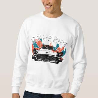 LET US RIDE on the classic car ( blk ver.) Sweatshirt