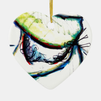 Let us take us to ideas unseen by Luminosity Ceramic Heart Ornament