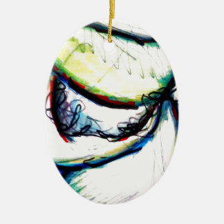 Let us take us to ideas unseen by Luminosity Ceramic Oval Ornament
