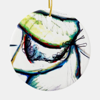 Let us take us to ideas unseen by Luminosity Round Ceramic Ornament