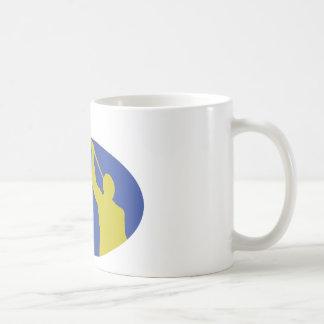"""Let Virtue Garnish Thy Thoughts"" Angel Moroni Coffee Mug"