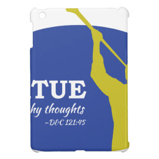 """Let Virtue Garnish Thy Thoughts"" Angel Moroni Cover For The iPad Mini"