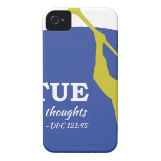 """Let Virtue Garnish Thy Thoughts"" Angel Moroni iPhone 4 Covers"