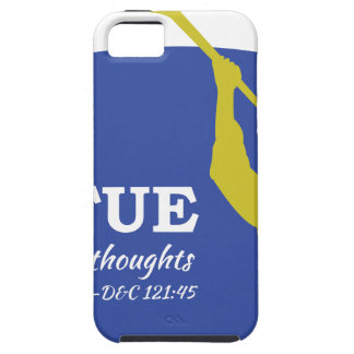 """Let Virtue Garnish Thy Thoughts"" Angel Moroni iPhone 5 Cases"