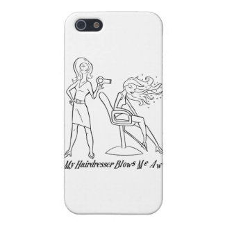 Let your favorite stylist know how you feel! iPhone 5 cover