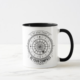Let Your Heart Be Your Compass Mug