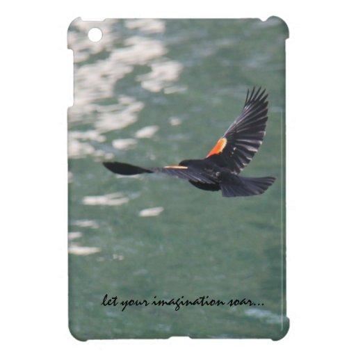 LET YOUR IMAGINATION SOAR Bird in Flight iPad Mini Case For The iPad Mini
