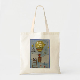 Let your imagination take flight tote bag