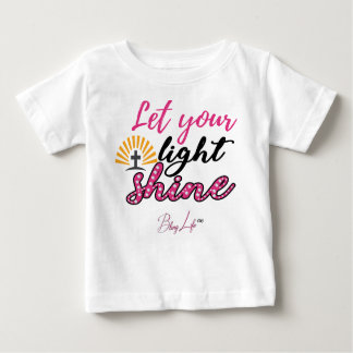 Let Your Light Shine Baby Fine Jersey T-Shirt