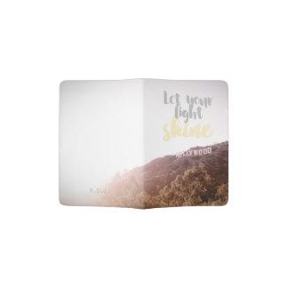 Let Your Light Shine - Hollywood Passport Holder