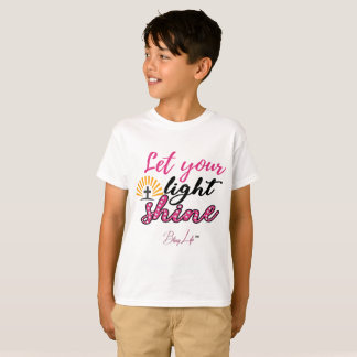 Let Your Light Shine Kids' Hanes TAGLESS® T-Shirt