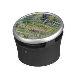 L'étang de nénuphar par des beaux-arts de Monet Haut-parleur Bluetooth