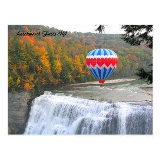 Letchworth Falls NY Postcard