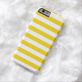L'été barre la caisse jaune citron superbe de coque iPhone 6 barely there