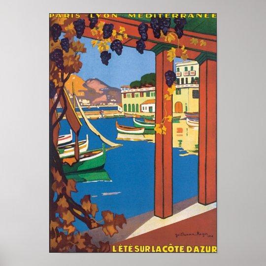 Lete Sur La Cote D' Azur Poster