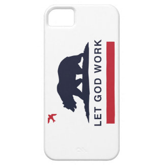 LETGOdwork Bear iPhone 5 Case America