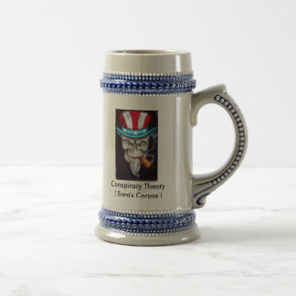LethalThreatUncleSamSkull1, Conspiracy Theory (... Beer Stein