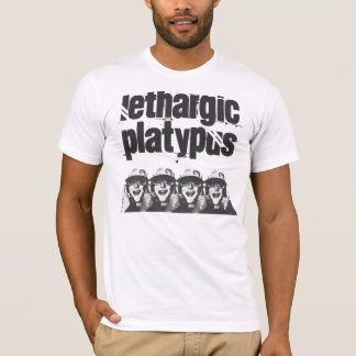 Lethargic Platypus 4 heads T-Shirt