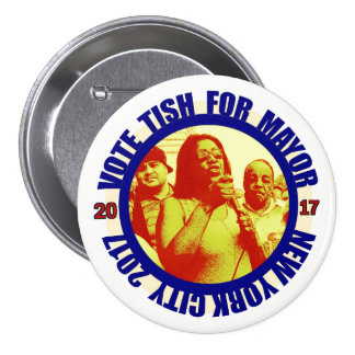 Letitia James for NYC Mayor 2017 3 Inch Round Button