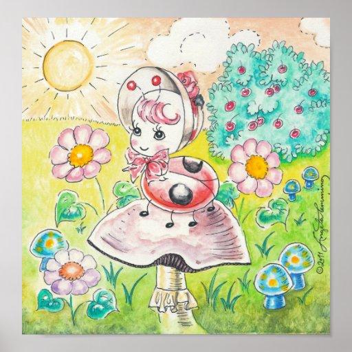Letitia Ladybug Posters