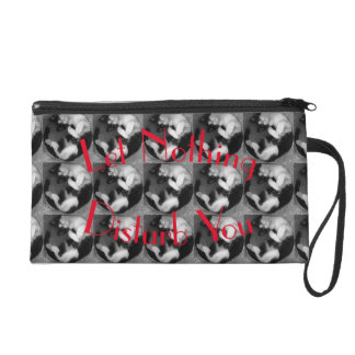 LetNothing bag design #02 Wristlet Purse