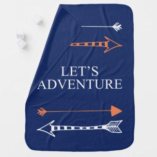 Let's Adventure 01 Baby Blanket