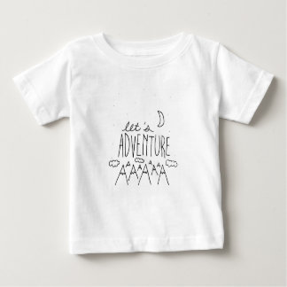 Let's Adventure-01 Baby T-Shirt