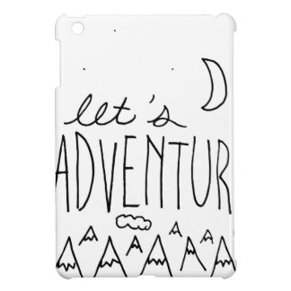 Let's Adventure-01 Cover For The iPad Mini