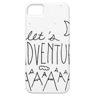 Let's Adventure-01 iPhone 5 Cases