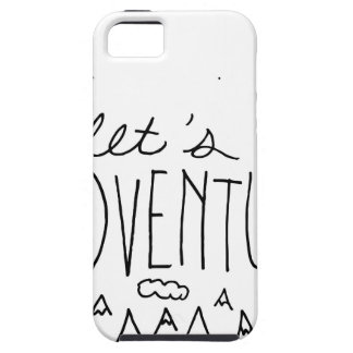 Let's Adventure-01 iPhone 5 Covers