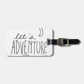 Let's Adventure-01 Luggage Tag