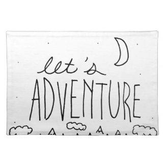 Let's Adventure-01 Placemat