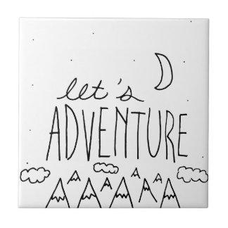 Let's Adventure-01 Tile