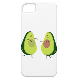 LET'S AVOCUDDLE, AVOCADO DESIGN iPhone 5 CASE