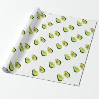 LET'S AVOCUDDLE, AVOCADO DESIGN WRAPPING PAPER