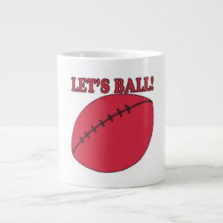 Lets Ball Jumbo Mug