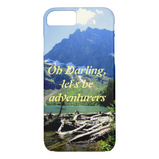 Let's be adventurers iphone case