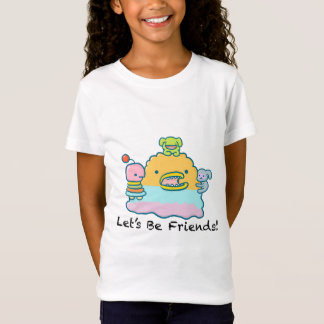 Let's Be Friends Girls' Fine Jersey T-Shirt