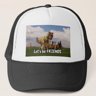 Lets be Friends Trucker Hat