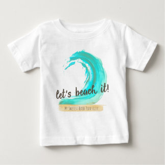 Let's Beach It Infant Tee Shirt