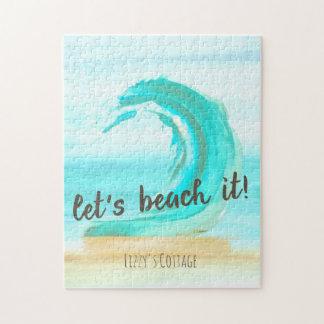Let's Beach It Puzzle