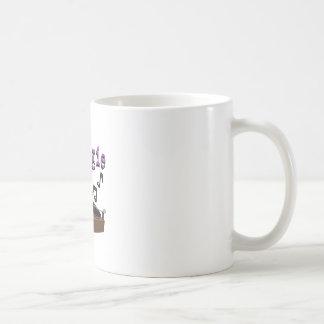 Lets Boogie Basic White Mug