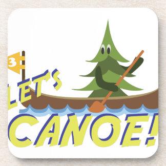 Lets Canoe! Beverage Coasters