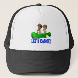 Lets Canoe Trucker Hat