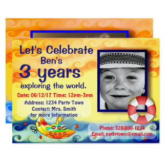 Let's Celebrate Birthaday Card